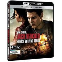 Jack Reacher 2. Nunca Vuelvas Atrás - UHD + Blu-Ray