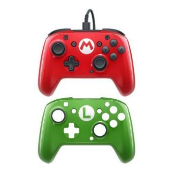 Mando Pro PDP Deluxe Mario/Luigi Nintendo Switch