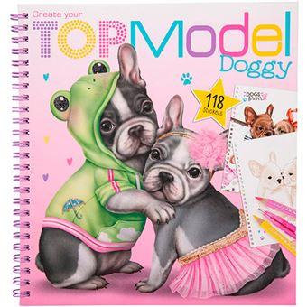 Libro para colorear Top Model Create Your Doggy