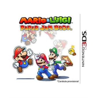 Mario Luigi Paper Jam Bros Nintendo 3ds Para Los Mejores