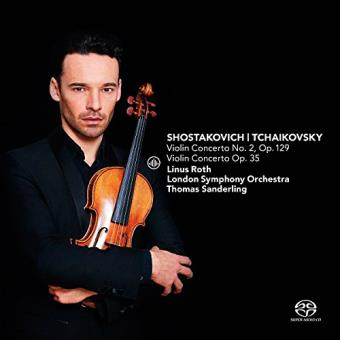 Shostakovich & Tchaikovsky: Violin Concerto No. 2, Op. 129 &  Violin Concerto Op. 35