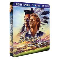 Bailando con lobos Ed Especial Coleccionista - Steelbook Blu-Ray + DVD Extras + Postales