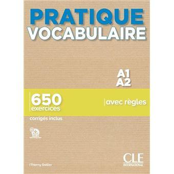 Pratique vocabulaire A1-A2