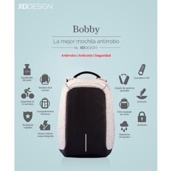 Mochila antirrobo Bobby compact rosa - XINDAO -5% en libros  61d36dc9c31f4