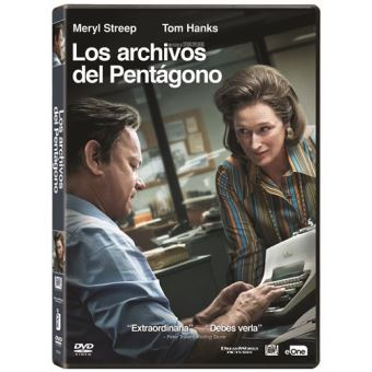 Los archivos del Pentágono - DVD