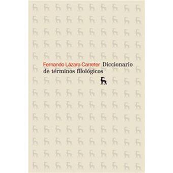 Diccionario de terminos filologicos