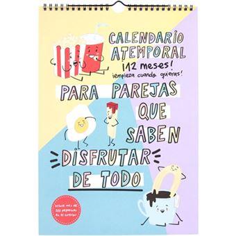 Calendario atemporal Pedrita Parker para parejas