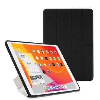 Funda con soporte Pipetto London Origami Negro para iPad 10,2''