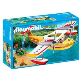Playmobil Hidroavión extinción incendios