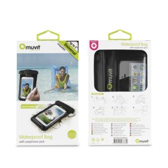 "Funda acuática Muvit para smartphones 5"""