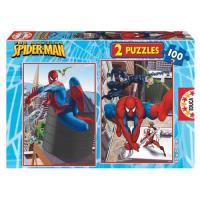 Puzzle: Spiderman Classic (2 X 100)