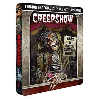 Creepshow  Ed Especial Limitada - Steelbook Blu-Ray + Postales