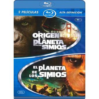 Pack El planeta de los simios - 1968 + El origen del planeta de los simios - Blu-Ray