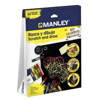 Manley Artist rasca y dibuja