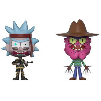 Figura Funko Vynl Rick y Morty - Seal Team Rick y Scary Terry