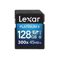 Tarjeta SDXC UHS-I Lexar 128GB Platinum II