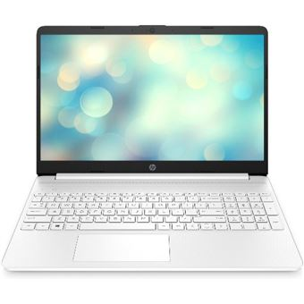 Portátil HP Laptop 15s-eq1023ns 15,6'' Blanco Sin S.O.
