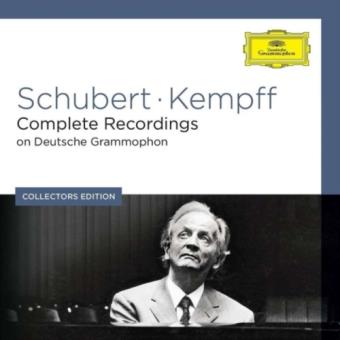 Box Set Schubert/Kempff: Complete Recordings On Deutsche Grammophon Collector's Edition