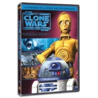 The Clone Wars - Temporada 4 - Volumen 1 - DVD
