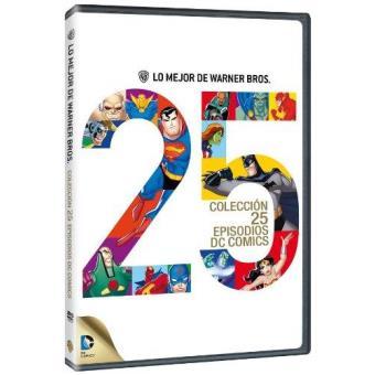 Colección 25 episodios de DC cómic - DVD