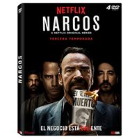 Narcos  Temporada 3 - DVD
