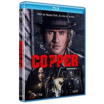 Copper - Temporada 2 - Blu-Ray