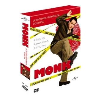 Monk  Temporada 2 - DVD