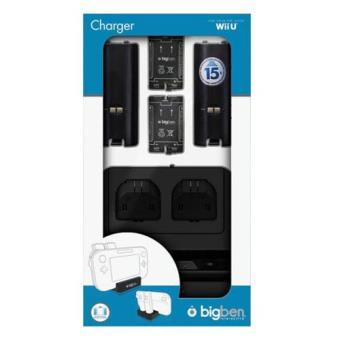 Cargador Doble Mandos Wii U