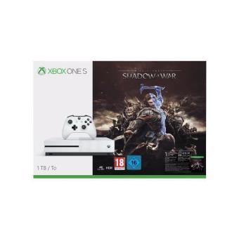 Consola Xbox One S 1TB + Sombras de Guerra