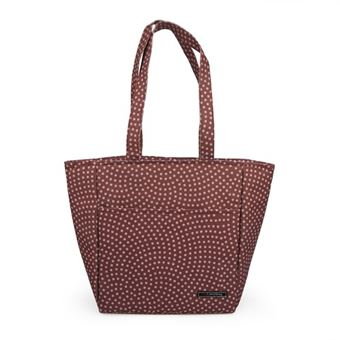 Bolsa Iris Shopper Dots Burdeos
