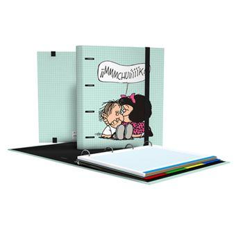 CarpeBook de anillas Mafalda A4 Muak