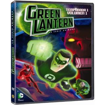 Green Lantern: La serie animada - Temporada 1 - Volumen 1 - DVD