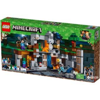 LEGO Minecraft 21147 Las aventuras subterráneas