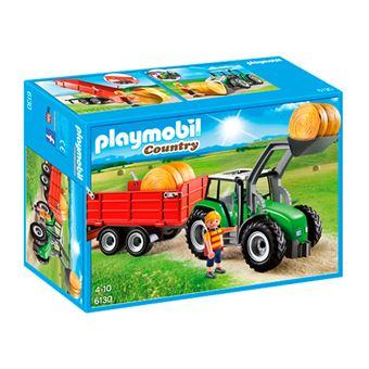 Playmobil Country Tractor con tráiler
