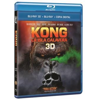 Kong: La Isla Calavera - Blu-Ray + 3D
