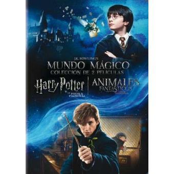 Pack J K Rowling Harry Potter Y La Piedra Filosofal Animales Fantásticos Y Dónde Encontrarlos Dvd Chris Columbus David Yates Eddie Redmayne Emma Watson Fnac