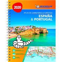Atlas de carreteras y turístico - España & Portugal - Formato A4