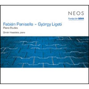 Ligeti, Panisello: Estudios piano