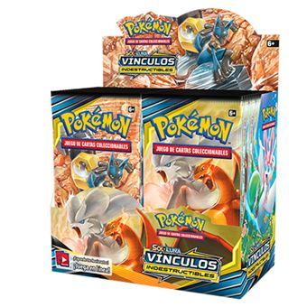 Pokémon JCC Sol y Luna Sol Vínculos indestructibles sobre