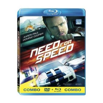 Need for Speed - Blu-Ray + DVD
