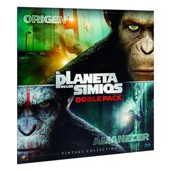 Pack El planeta de los simios. Dúo  Ed Limitada Vinilo - Blu-Ray