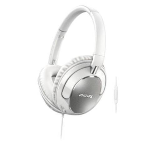 Auriculares diadema Philips SHL4405WT blanco