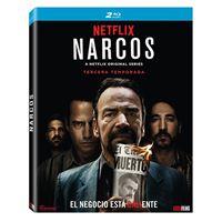 Narcos - Temporada 3 - Blu-Ray