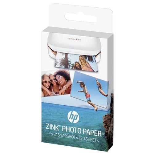 Papel fotográfico HP Sprocket Zink
