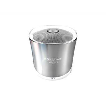 Altavoz Bluetooth Creative Woof 3 Plata