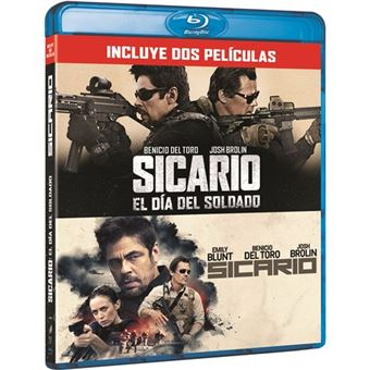 Pack Sicario 1-2 - Blu-Ray