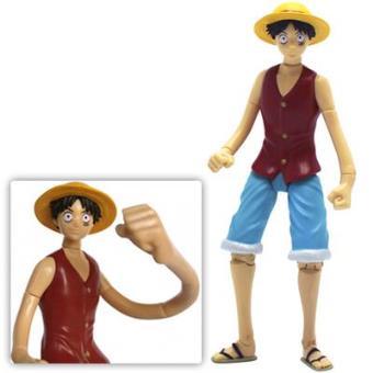 Figura One Piece Luffy (12 cm) - Merchandising Cómic  835a80b8d72