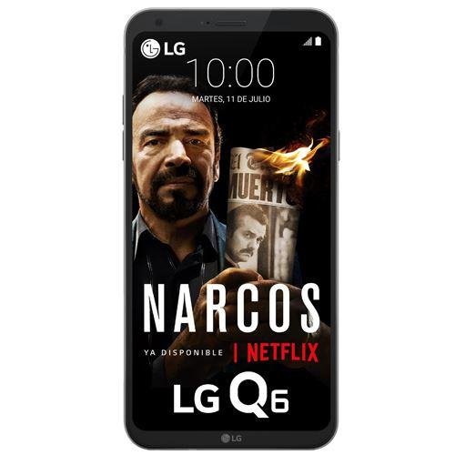Smartphone LG Q6 Plata