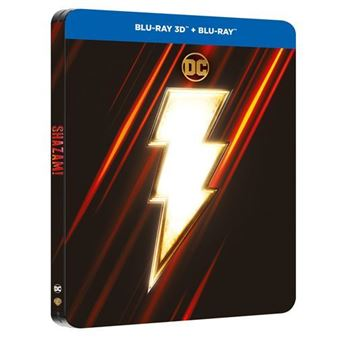 ¡Shazam! - Steelbook - 3D + Blu-Ray