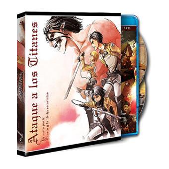 Ataque a los Titanes: El Arco y la flecha - Blu-Ray,  Ed ilustración conmemorativa de Hajime Isayama, parte 1